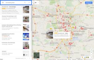 Kampania reklamowa w Google Maps